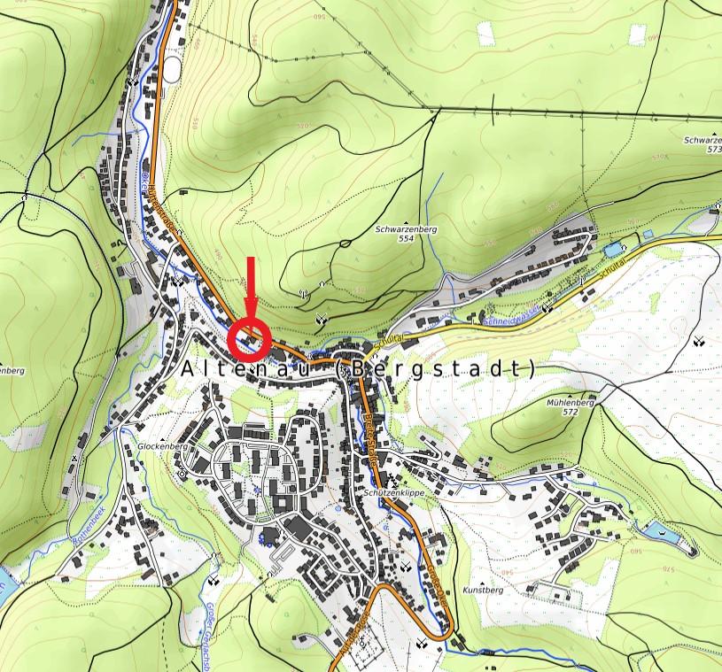 Ferienhaus Kurpark Domizil Klein Karte