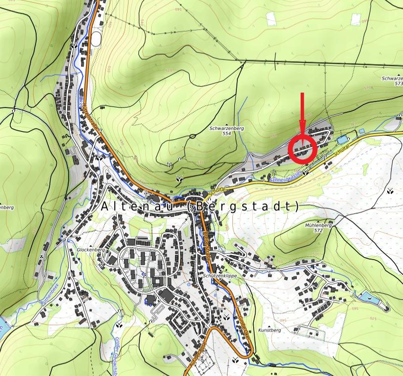 Ferienwohnungen Hirschhausen Karte