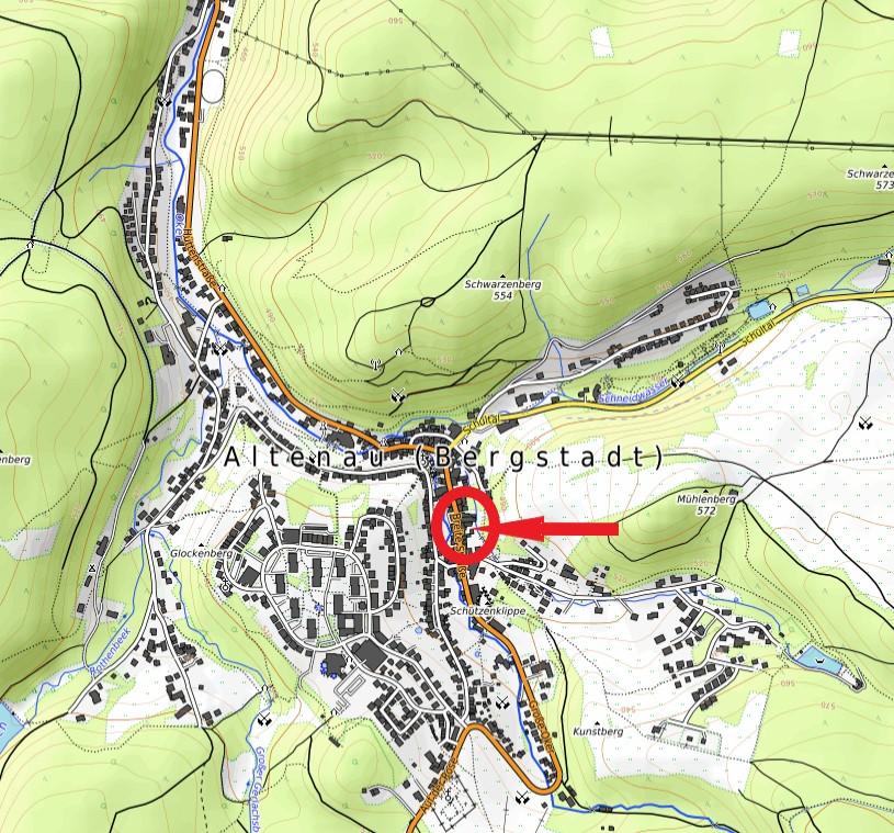 Haus Harzsonne Ferienwohnungen Karte