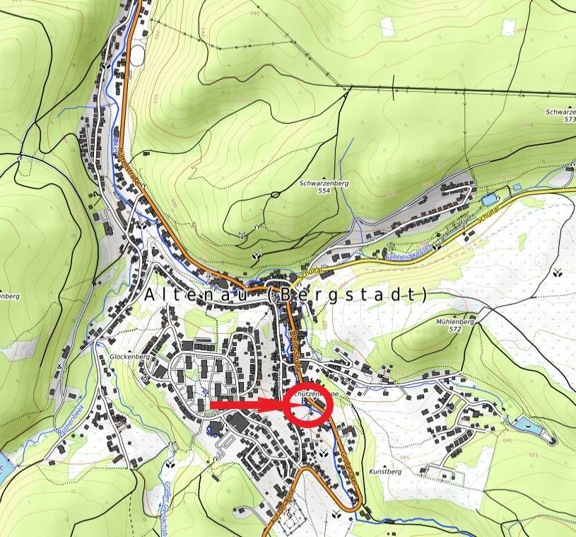 Haus Heidi Ferienwohnungen Karte