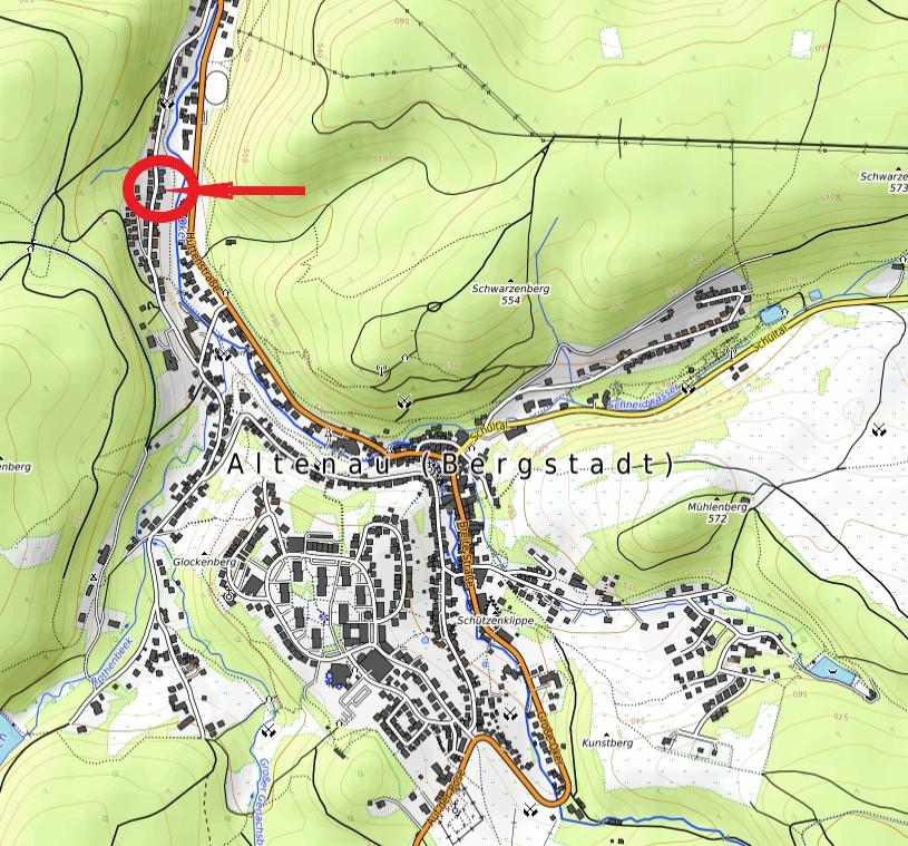 Haus Silberhütte Ferienwohnungen Karte