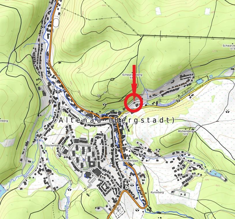 Haus vorm Wald Ferienwohnungen Karte