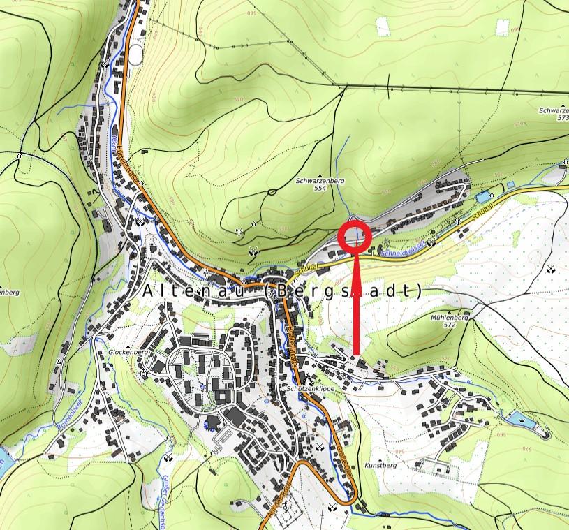 Standort Forstamtsbrunnen Bornkappe