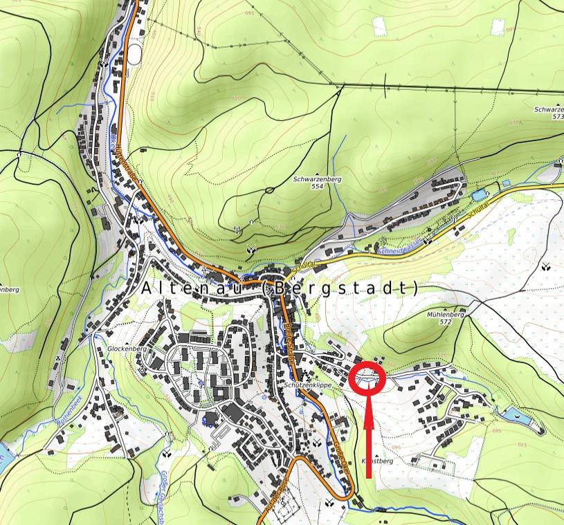 Standort Villenbrunnen Kleine Oker